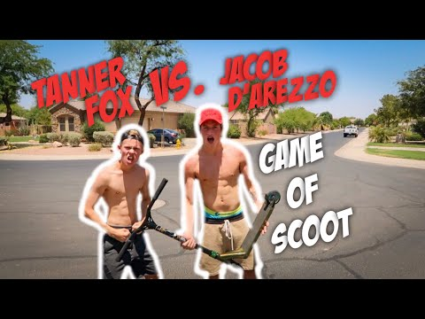 GAME OF FLAT SCOOT!! ( TANNER FOX VS. JACOB D'AREZZO )