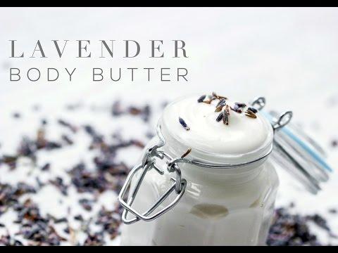 DIY Relaxing Lavender Body Butter