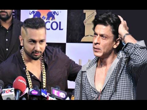 Yo Yo Honey Singh On Figth With Shahrukh Khan & Salman Khan At Zee Cine Awards 2016