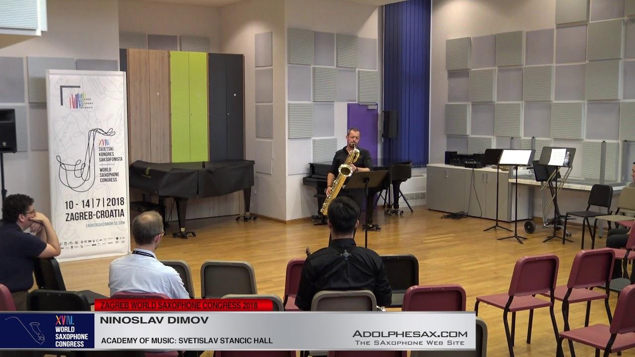 Joy of Union by Malcom Dedman    Ninoslav Dimov   XVIII World Sax Congress 2018 #adolphesax