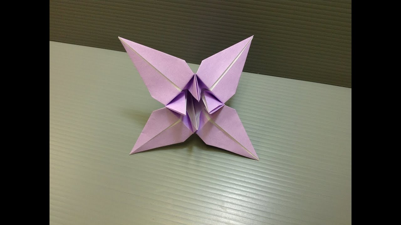 Daily Origami 037 Iris Youtube