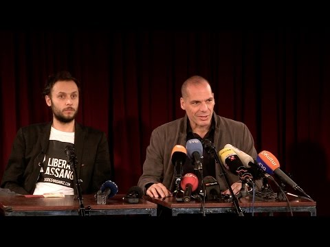 Press Conference: Yanis Varoufakis & Democracy in Europe Mov