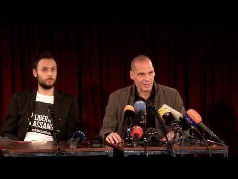 Press Conference: Yanis Varoufakis & Democracy in Europe Movement 25