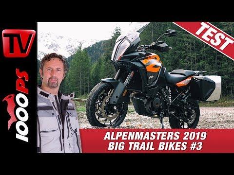 KTM 1290 Super Adventure S im Alpenmasters Test - Vergleich - grosse Reiseenduros 3/4