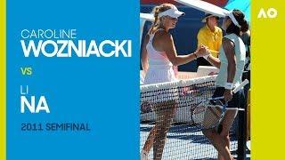 AO Classics: Caroline Wozniacki v Li Na (2011 SF)