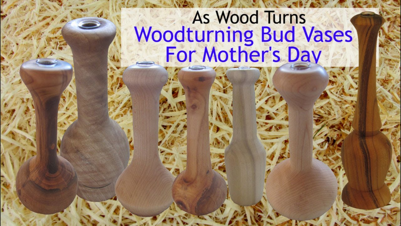 Woodturning bud vases for mothers day youtube reviewsmspy