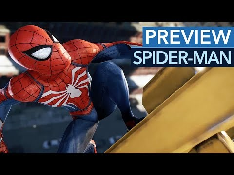 Spider-Man - Preview-Video zum PS4-exklusiven Action-Rollenspiel (Gameplay)