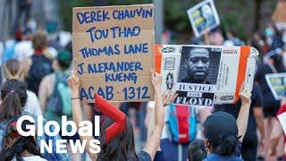 George Floyd death: Former Minneapolis police officer Derek Chauvin charged with murder