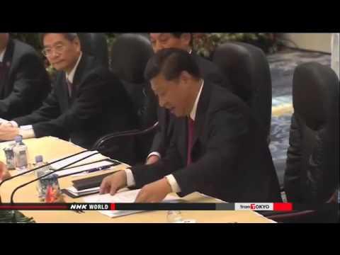 ► China's Xi , Taiwan's Ma begin talks in Singapore