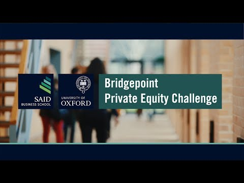 Bridgepoint Private Equity Challenge 2017
