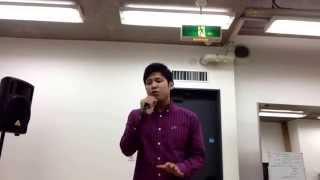 札幌で歌手を目指してまるきょうすけと申します。 今回はLEOさんの愛し...