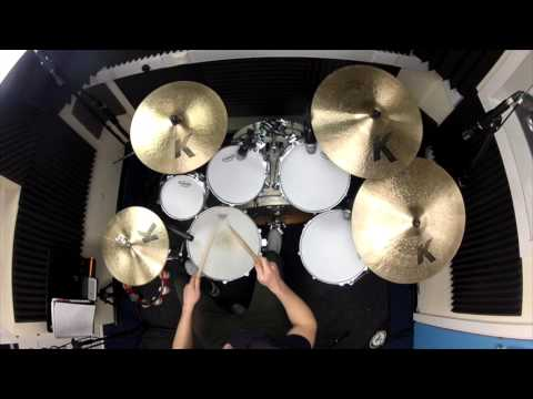 Trinity Rock & Pop Drums Grade 2 Muse Sing for Absolution Billy Baker with backing track