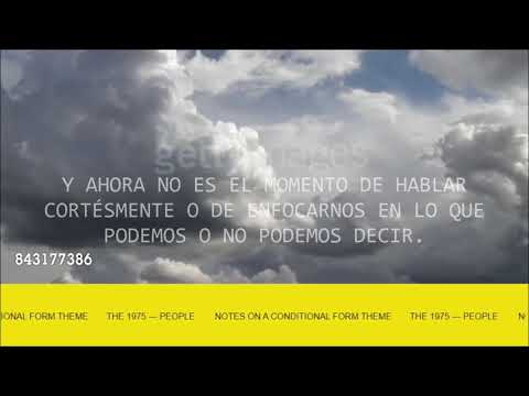 Download THE 1975 - THE 1975 Notes On A Conditional Form Sub. Español Mp4 baru