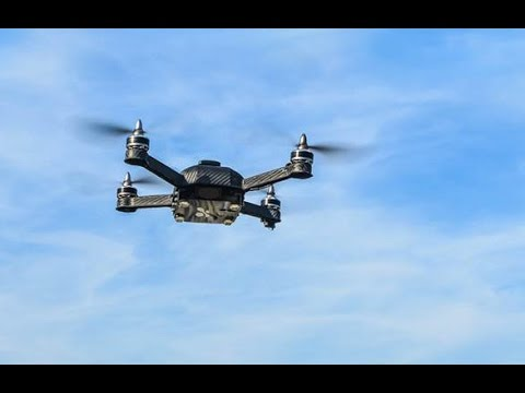 Self-Piloting Job Site Monitoring, Surveying, and Inspection Drone Demonstration UAV Video