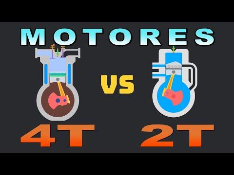Cómo funciona un Motor 2T Vs. Motor 4T en una sencilla explicación.