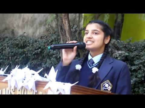 English Poem Recitation 2017 (at S'HA)