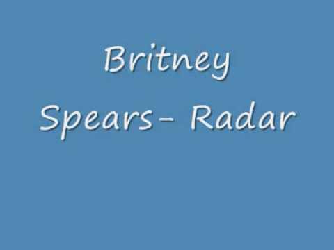 Britney Spears Radar w/lyrics in description