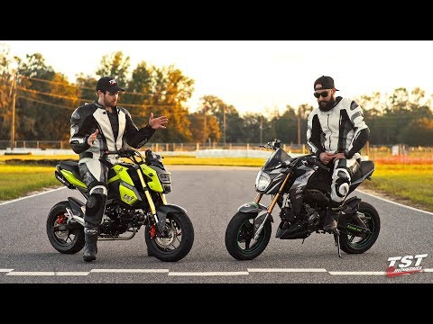 Honda Grom vs Kawasaki Z125: What's the difference?