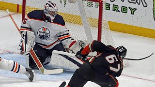 Rakell finishes off hat trick as Ducks tie game in final seconds