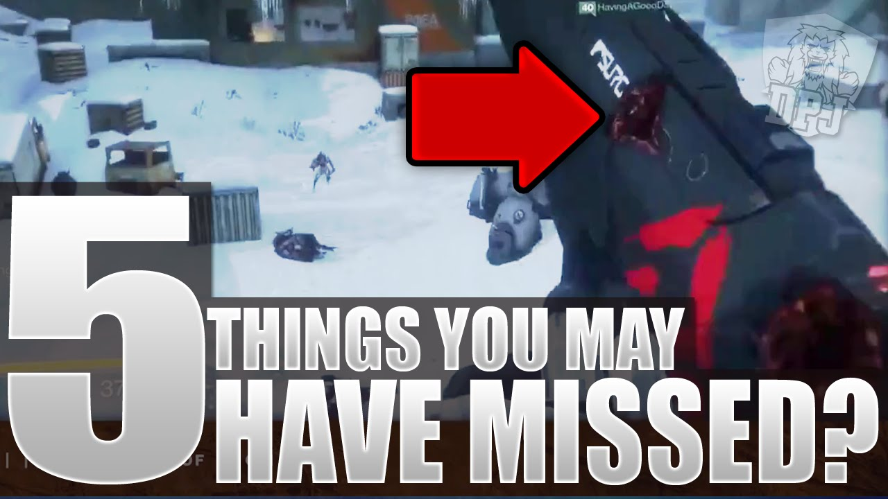 Destiny 5 Plus Things You Missed 400 Light Siva Mutated Weapon