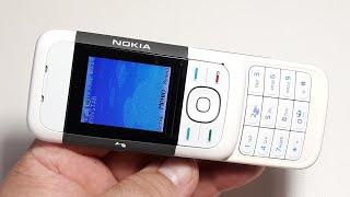 Капсула времени Nokia 5200. Ретро телефон. Nokia Series 40. Retro Telefon aus Deutschland