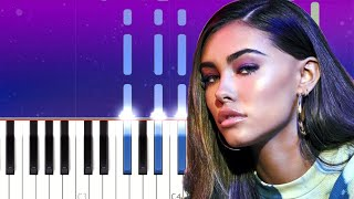 Madison Beer - Stained Glass (Piano Tutorial)