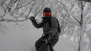 Feiyu tech G5 with GoPro Hero 5-SNOWBOARDING TRIP TO ZAO,YAMAGATA,JAPAN
