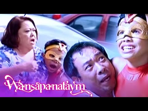 Wansapanataym: Super Ving helps Paco and Yolly in the middle of his class