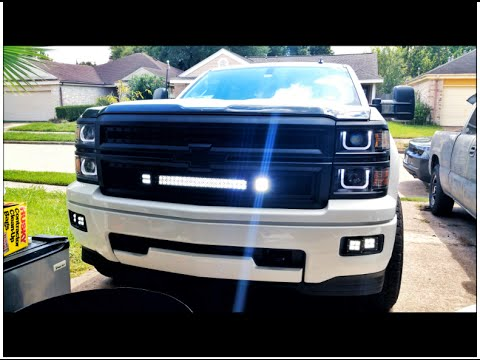 2014 silverado front bumper swap - YouTube