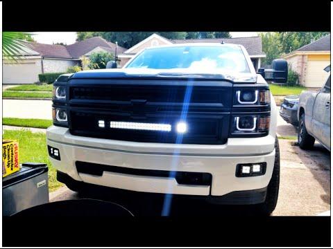 2014 silverado front bumper swap - YouTube