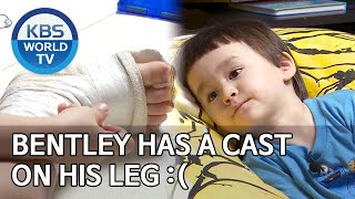 Bentley has a cast on his leg :( [The Return of Superman/2020.07.05]