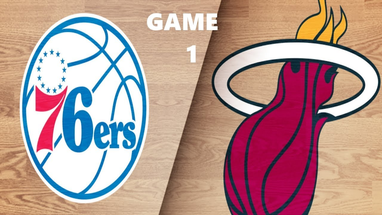 Philadelphia 76ers vs Miami Heat   NBA Live 18 Playoffs ...