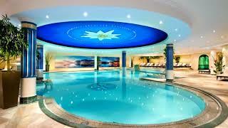 Натяжные потолки в бассейне: подборка фотографий