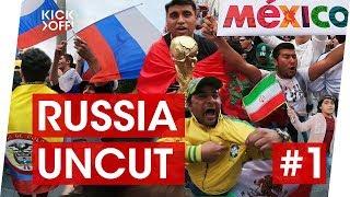 FIFA World Cup 2018, June 13   Argentina, Mexico, Peru, Iran fans   UNCUT Part 1