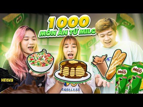 Chế Biến 1000 Món Cùng MILO Bữa Sáng Cân Bằng | HEAVY Food Tour