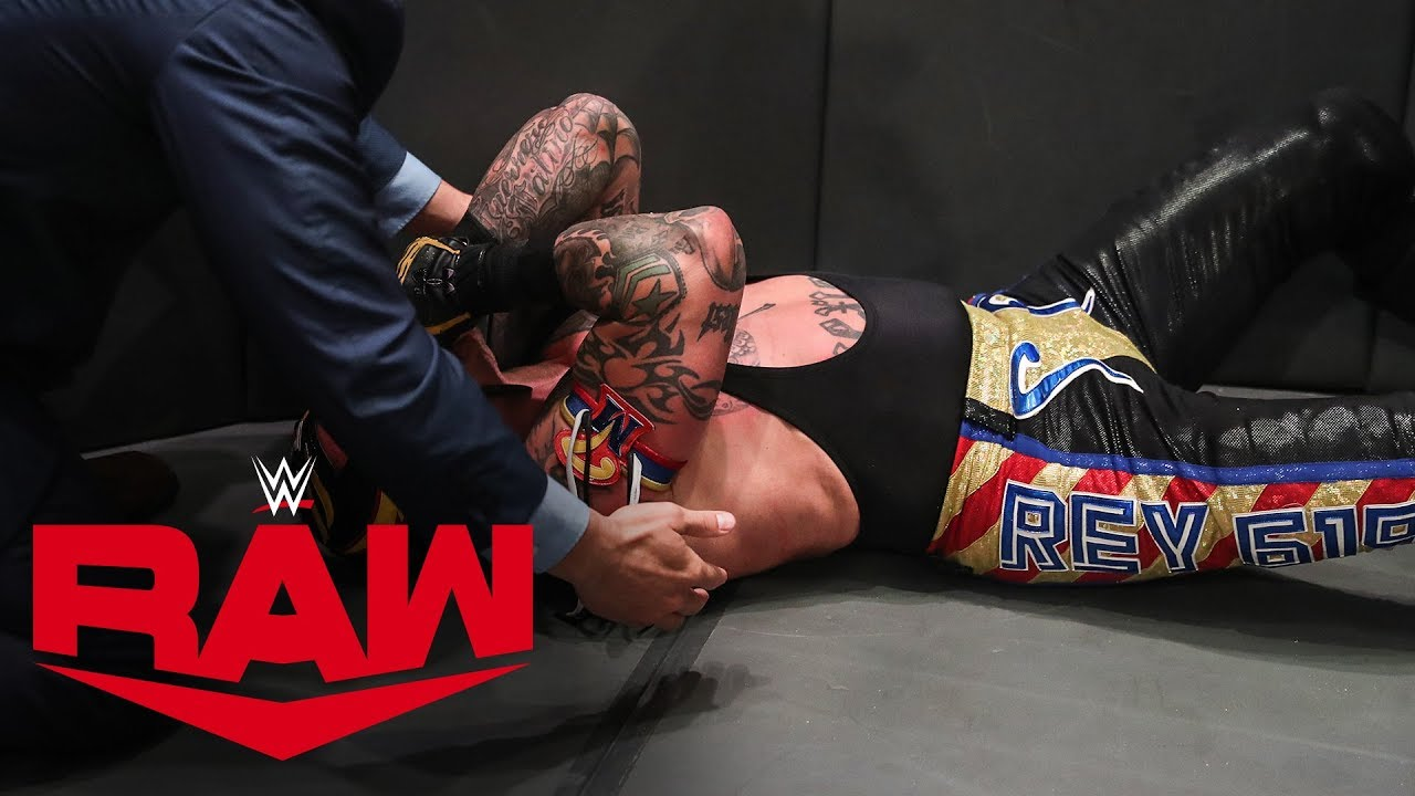 WWE provides update on Aleister Black and Rey Mysterio after ...