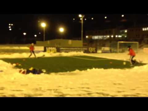 Dery & Bery training football 2015