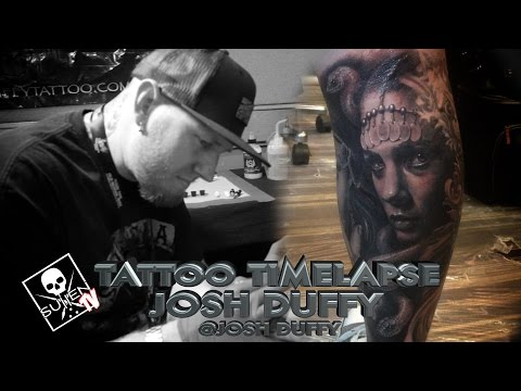 Tattoo Time Lapse - Josh Duffy