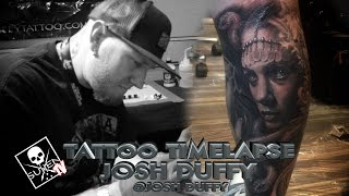 Tattoo Time Lapse - Josh Duffy