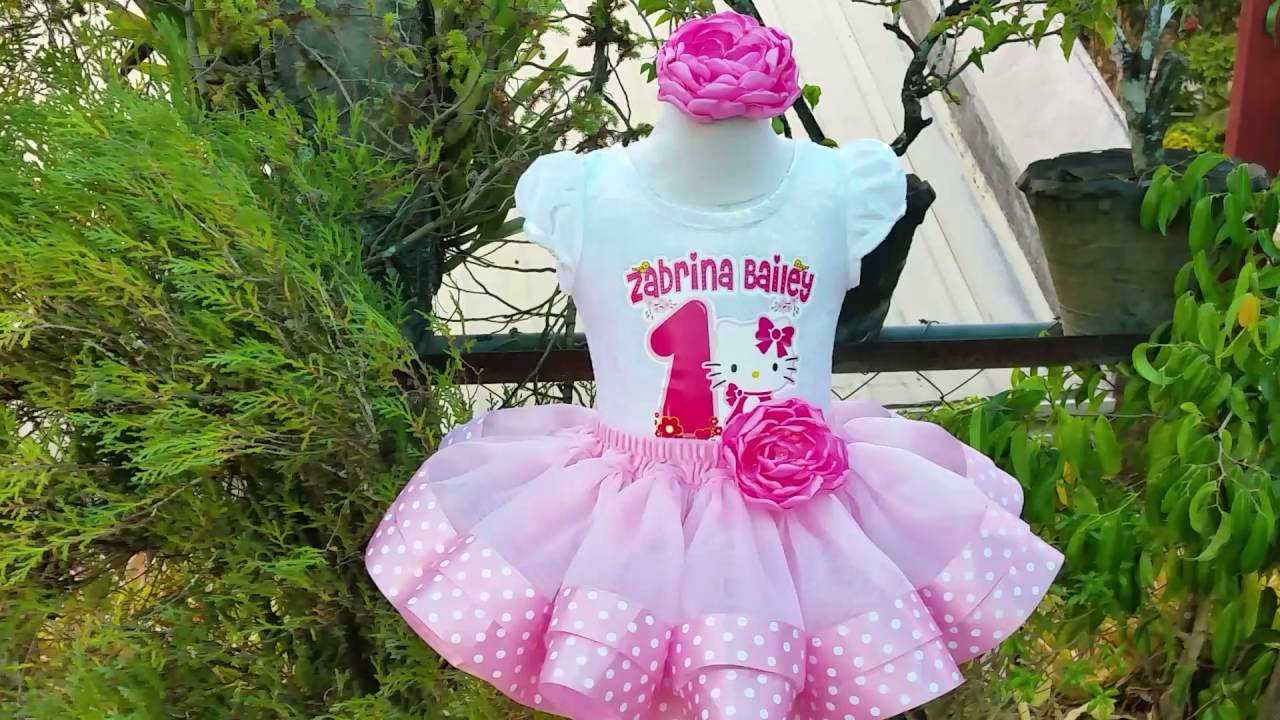 85d181c31ce72 Hello Kitty Birthday outfit - YouTube