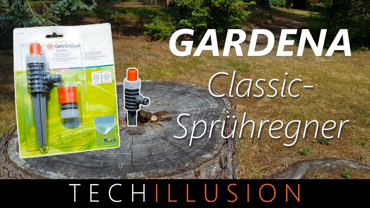 ?gardena rasensprenger im test - gardena sprühregner - review