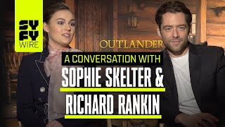 Outlander's Brianna & Roger: Relationships and Fighting The World Together | SYFY WIRE