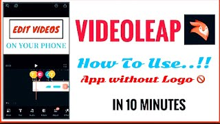 How To Use Enlight Videoleap in Hindi   Best iOS App For Making and Editing Videos and Vlogs