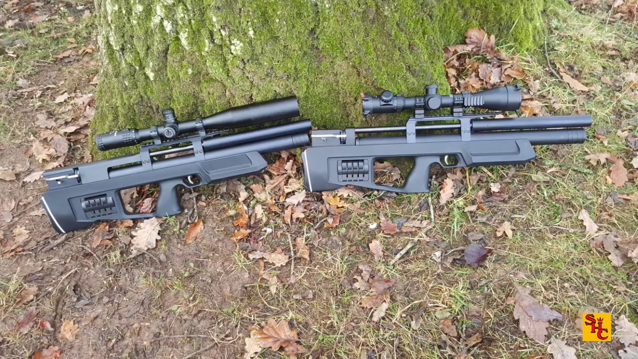 Pest Control with Air Rifles - Squirrel Shooting - Pair of Crickets