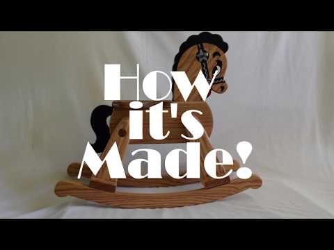 Rocking Horse Build (Short Version 4min)