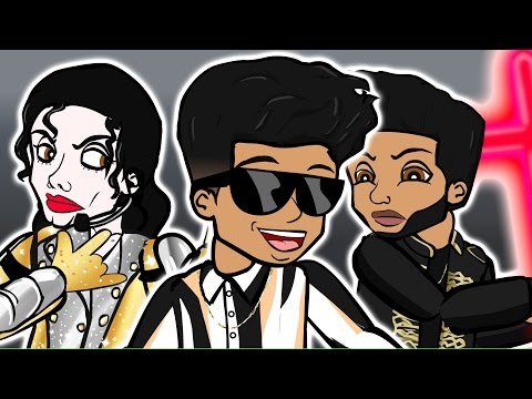Bruno Mars - That's What I Like (CARTOON...