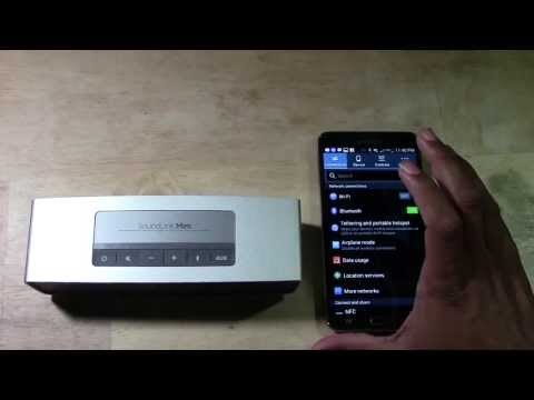 Bose SoundLink Mini - How to Pair with an Android Phone   H2TechVideos