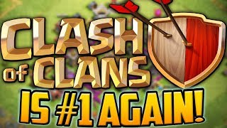 BACK ON TOP! How Clash of Clans Reached #1 AGAIN, 7 Years Later! Be...