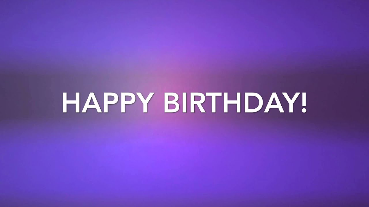 Color Changing Wallpaper Beautiful Backgrounds 4k Happy Birthday Color Changing 1 Youtube