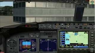 Microsoft Flight Simulator X + Acceleration, P. Mallorca-Reus {FedEx Cargo} 2 de 2